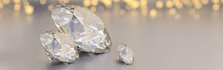 Der Diamant: Der Geburtsstein für April  – Bedeutung  und Farbe