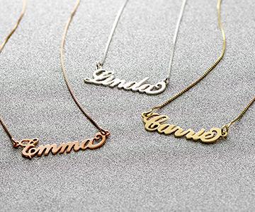 Die kultige Carrie-Namenskette