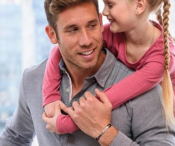 Perfekten Herrenarmbänder zum Vatertag