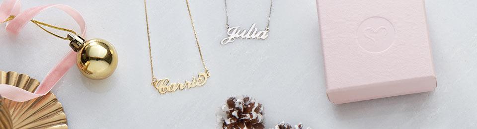 Perfekte Weihnachtsgeschenke.Das Perfekte Weihnachtsgeschenk Meine Namenskette