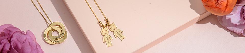 585er Gold und Weißgold