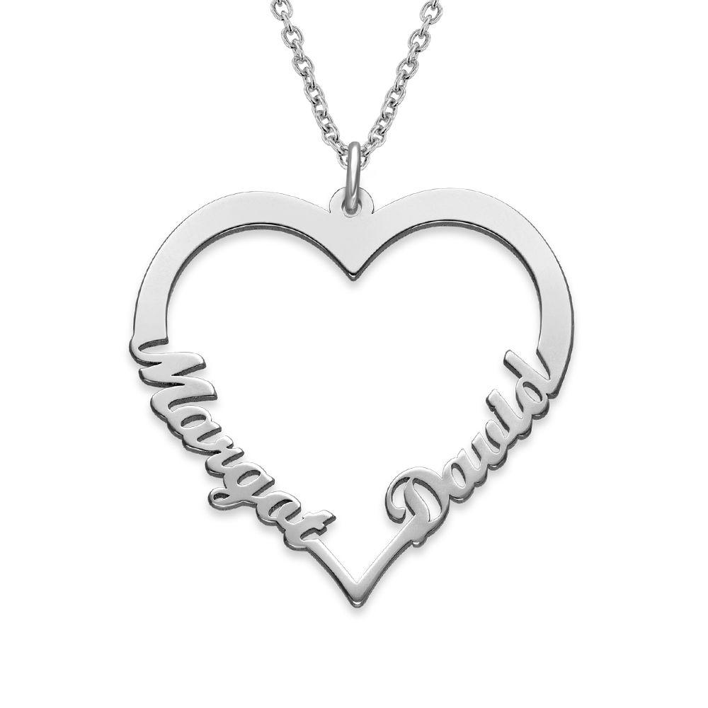 Collar de Corazón con Inscripción Personalizada
