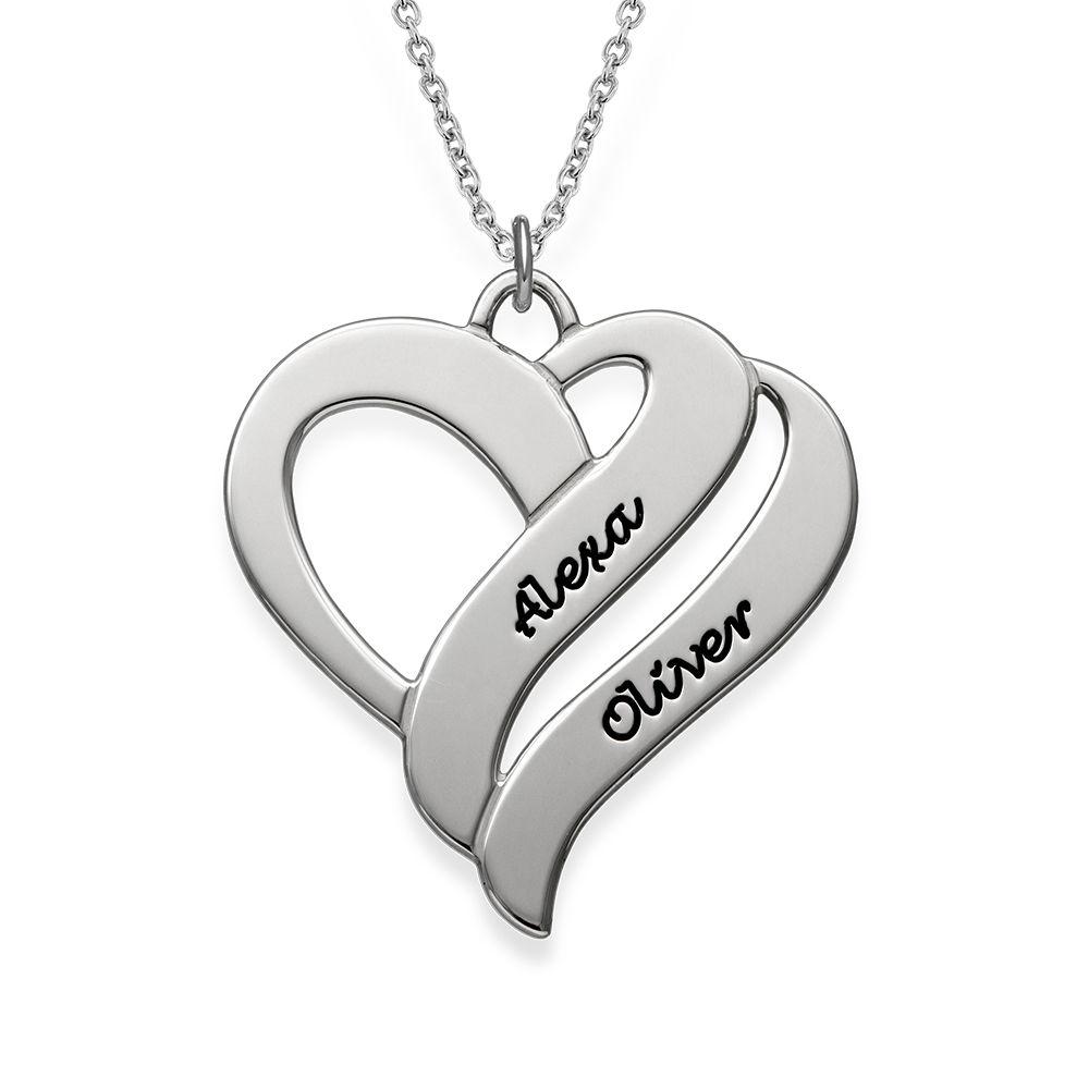 Collar Dos corazones por siempre Uno