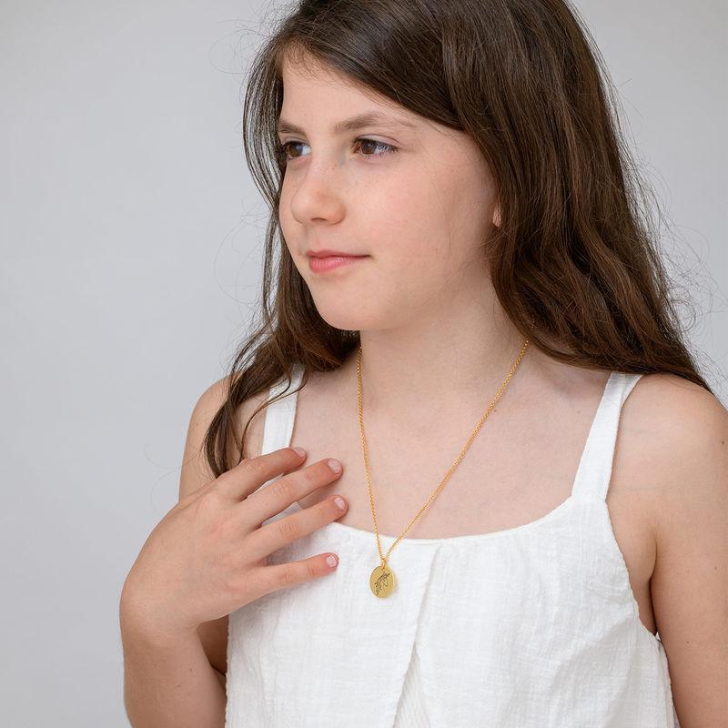 Collar Unicornio chapado en oro - 3