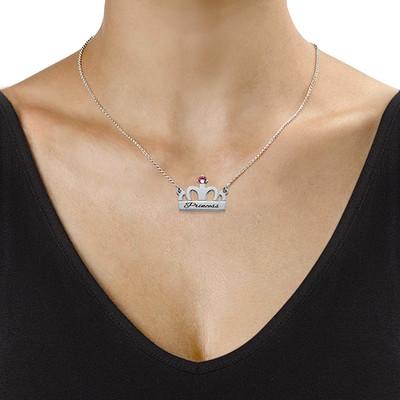 Collar de Corona con Piedra - 1