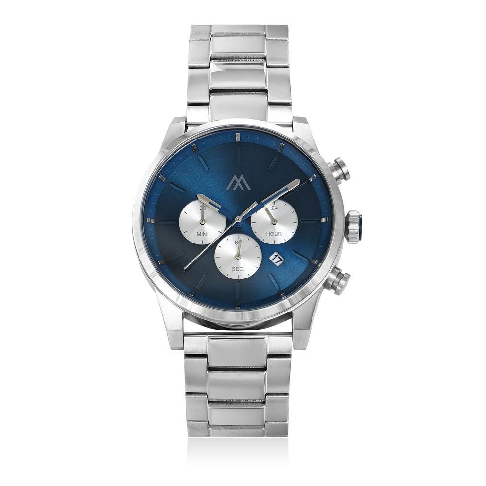 Reloj Quest Cronómetro de acero inoxidable para hombres