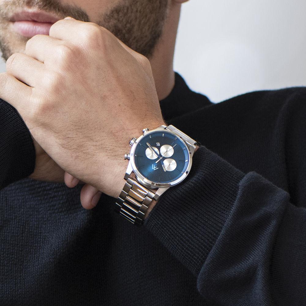 Reloj Quest Cronómetro de acero inoxidable para hombres - 6