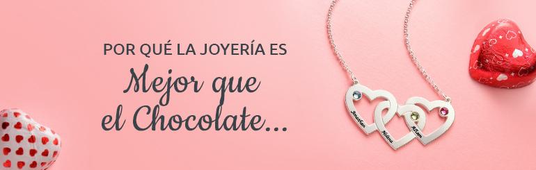 10 Razones del por qué Joyería es un Mejor Regalo de San Valentín que Chocolates