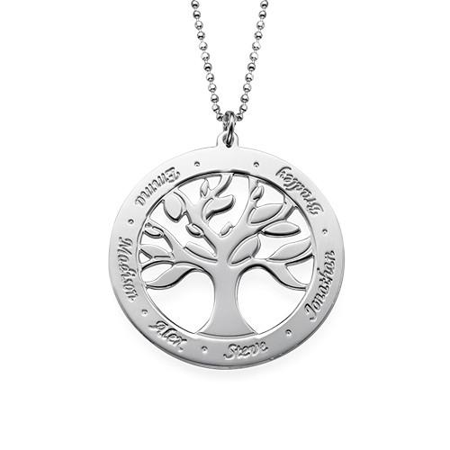 Collar Árbol de la Vida Grabado