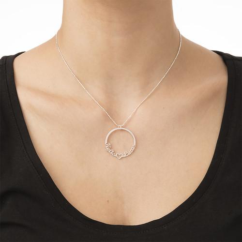 Collar Círculo con Nombre - 1