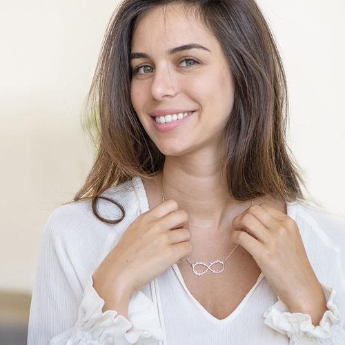 Collar Infinito de 4 Nombres - 1