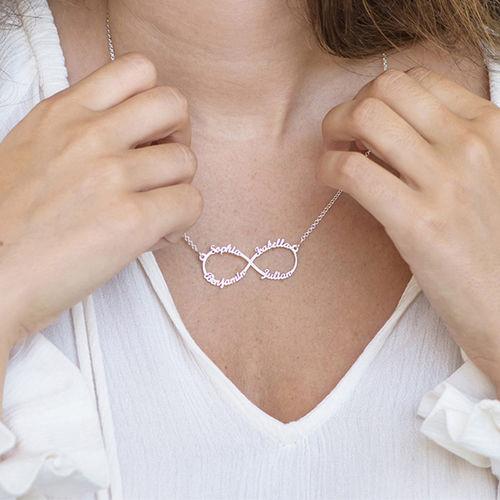 Collar Infinito de 4 Nombres - 2