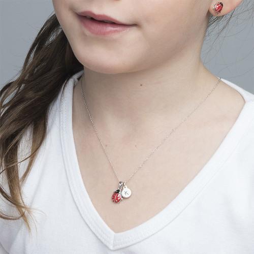 Collar de Mariquita para Niños con encanto Disco - 2