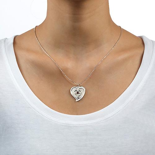 Collar de Parejas Personalizado con Piedras - 2