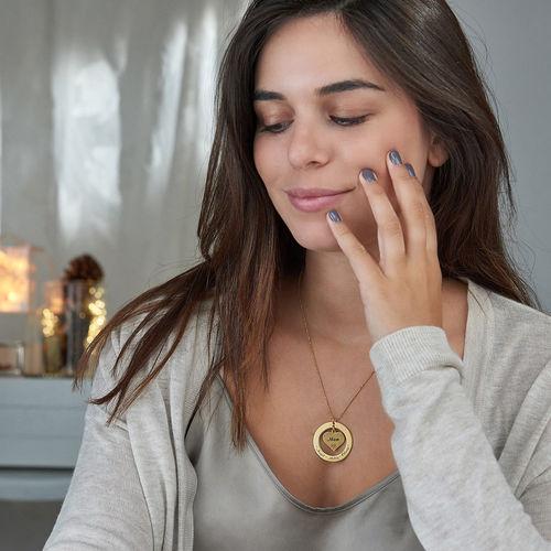 Collar de la Abuela con nombres – Chapa de Oro - 2