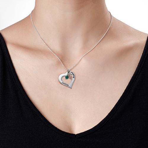 Corazón grabado con piedras - 1