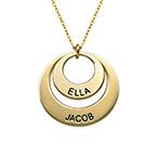 Joyas para Mamá - Collar de Discos en oro de 10K