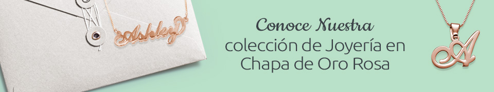 Chapado en Oro Rosa