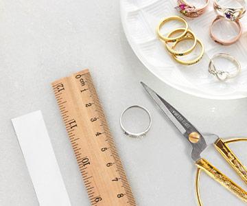 ¿Cómo saber la talla de su anillo?