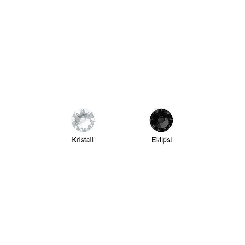 Kullattu rannekoru kirjaimella ja kuutiozirkonilla - 4