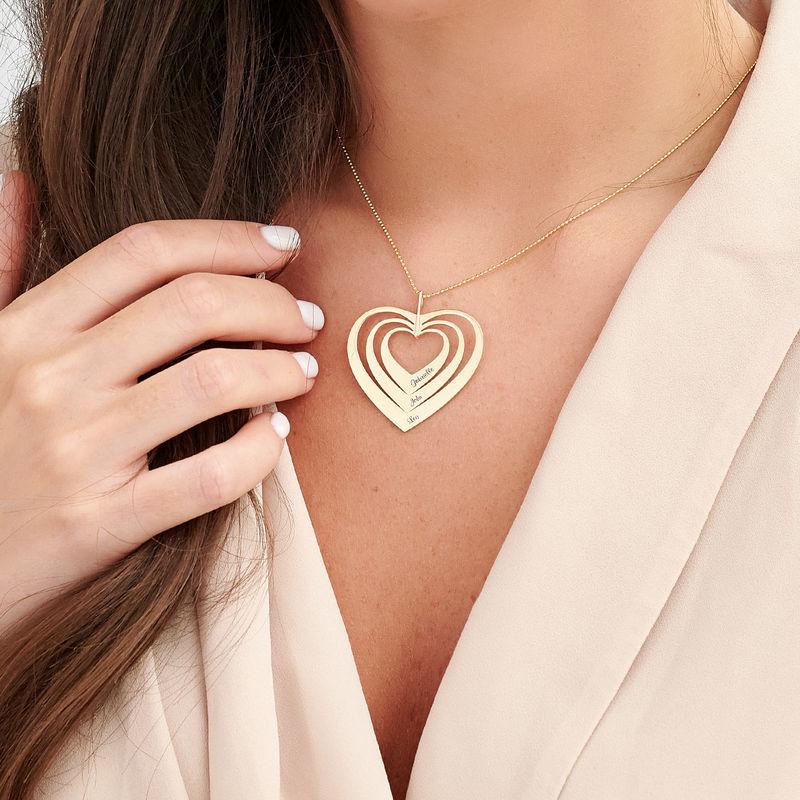 Sydän kaulakoru, 10K kulta - 2