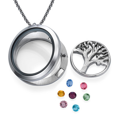 Sukupuu -Medaljonki - 1