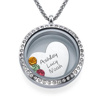 Äidin rakkaus -medaljonki