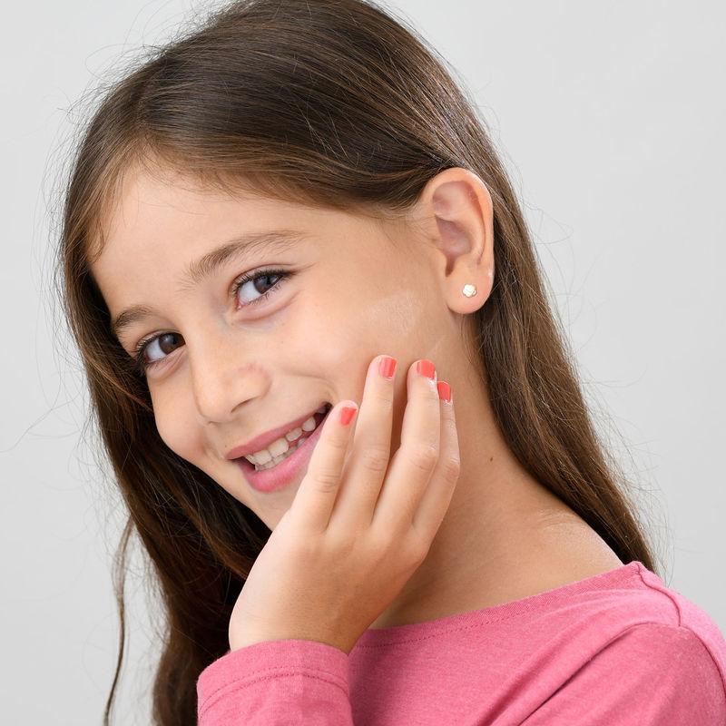 Kultakorvakorut pienelle tytölle - 2