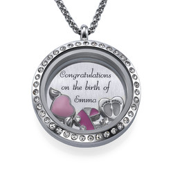 Tyttövauvalle -Medaljonki tuotekuva