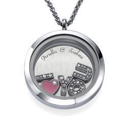 I LOVE YOU -Medaljonki tuotekuva