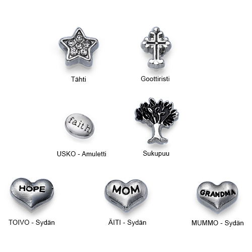 Amuletit medaljonkeihin
