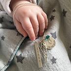 Collier Personnalisé Pendentifs pour Maman