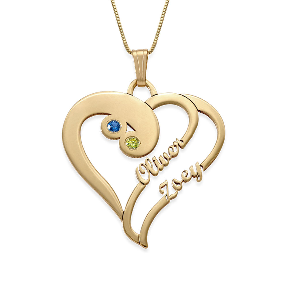Two Hearts Forever One in 14ct Gold - Yours Truly Collection