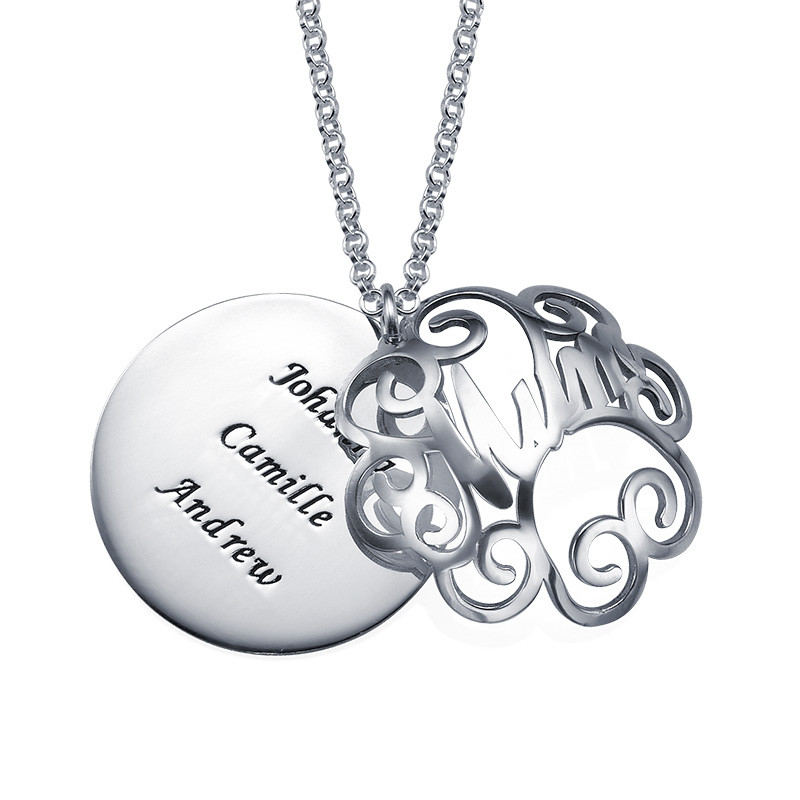 Mum Necklace with Back Engraving - 1