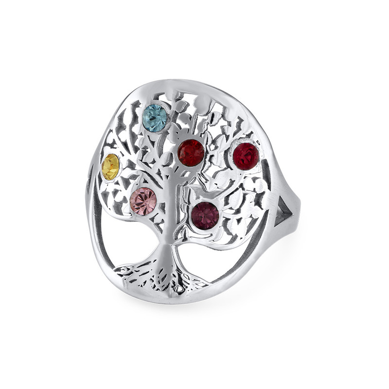 Family Tree Jewellery - Birthstone Ring