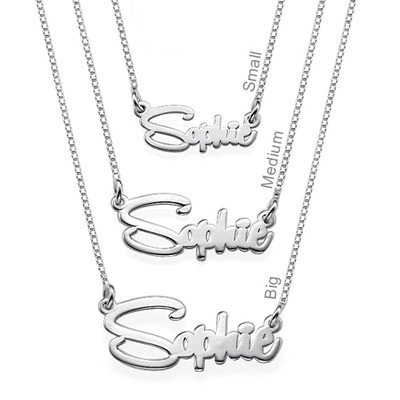 Say My Name Personalised Necklace