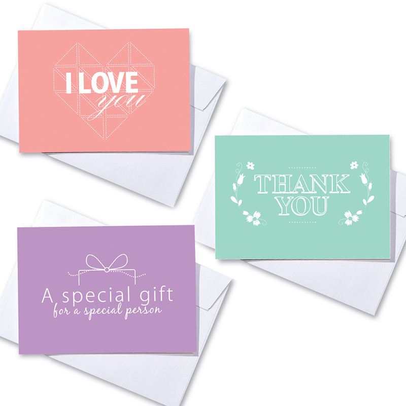 Greeting cards for special occasions