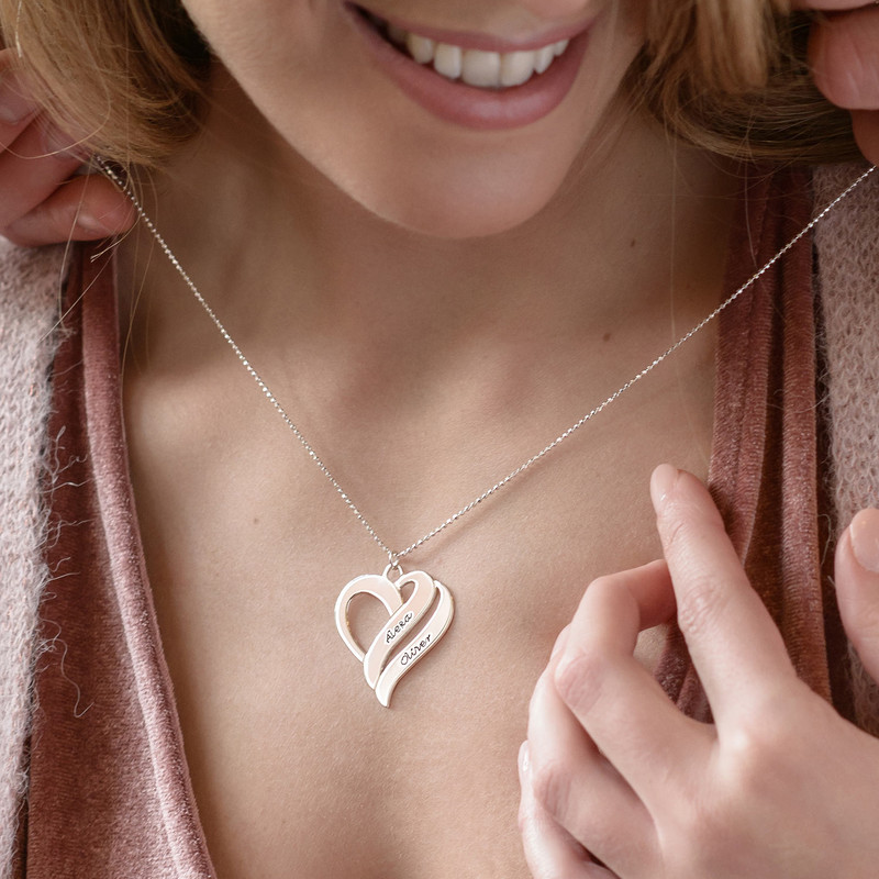 Two Hearts Forever One Necklace - 2