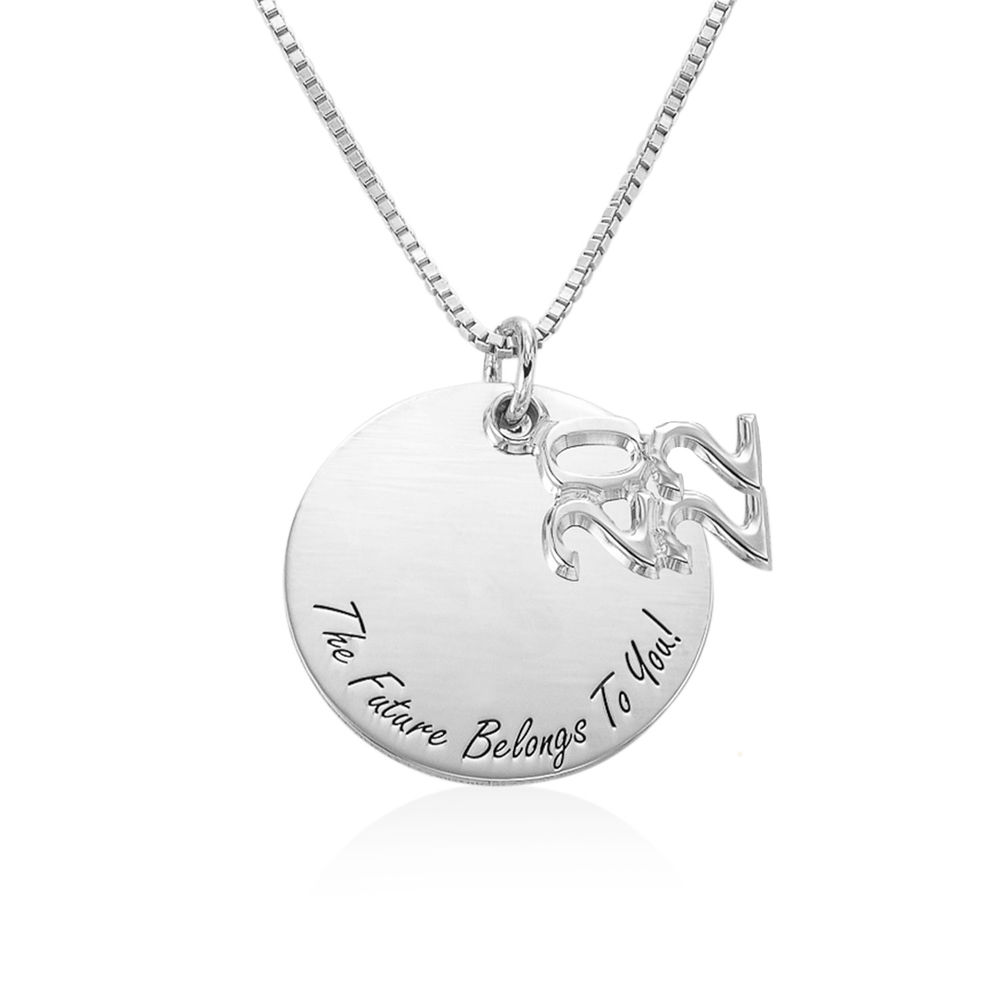 Engraved Graduation Necklace - 1
