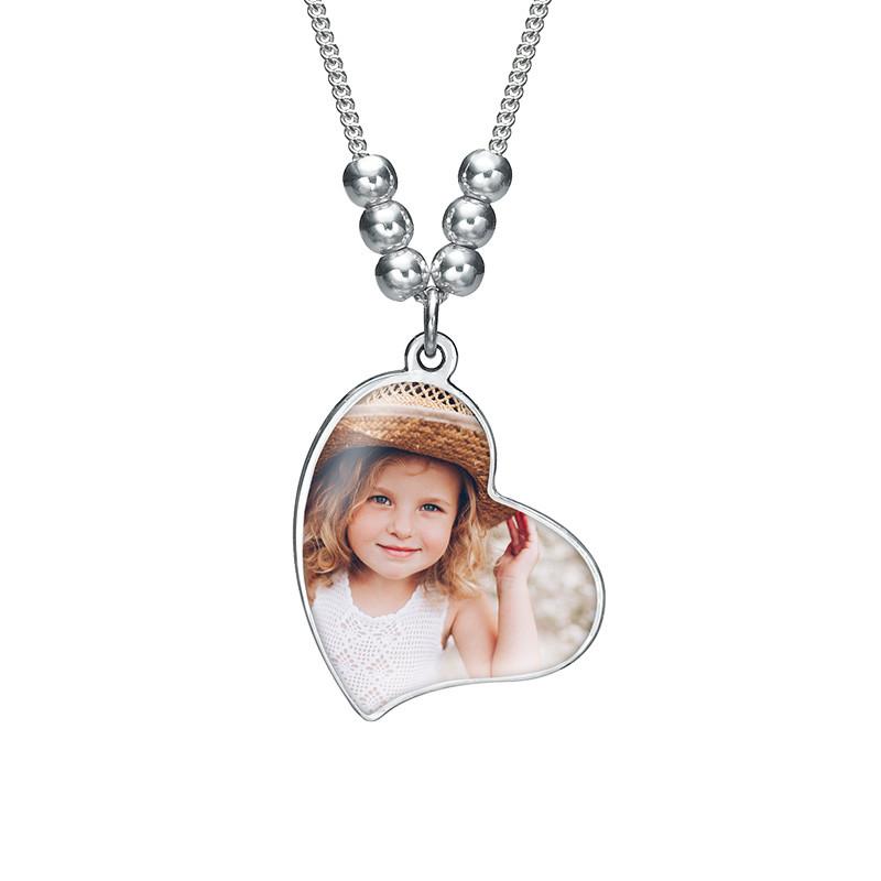Multiple Photo Charm Necklace - 1