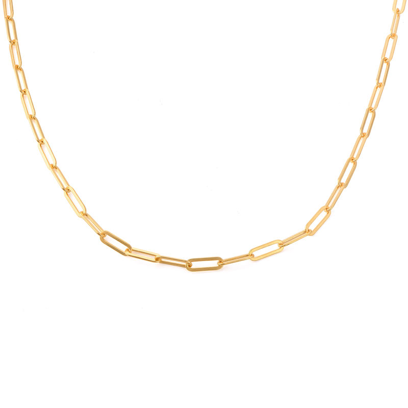 Chain Link Necklace in 18ct Gold Vermeil
