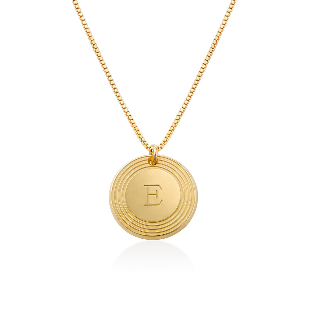 Fontana Initial Necklace in Vermeil