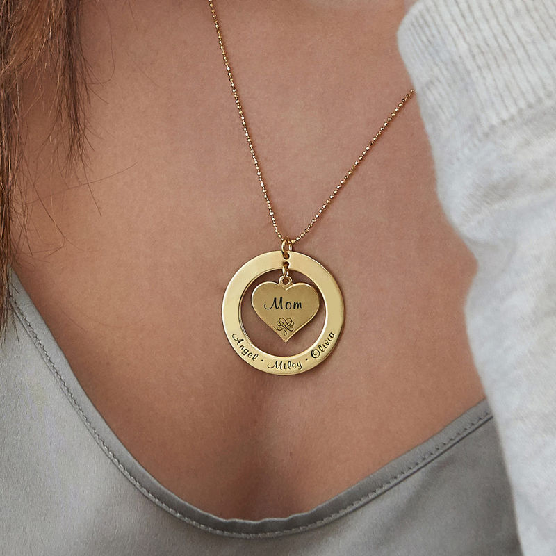 10ct Gold Grandmother Necklace - 3
