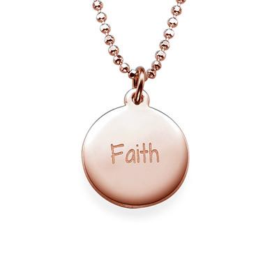 Faith Inspirational Necklace RGP