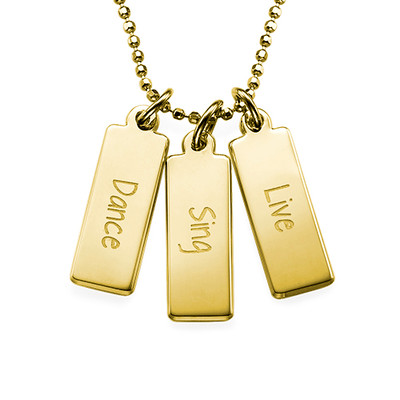 Dance Sing Live Inspirational Necklace GP