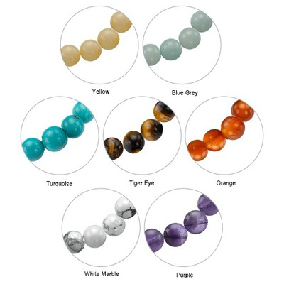 Personalised Family Tree Jewellery - Bead Bracelet with Tassel - 3