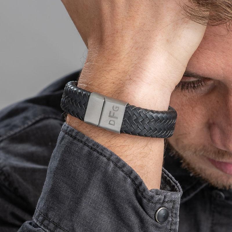 Men's Monogram Bracelet - 4