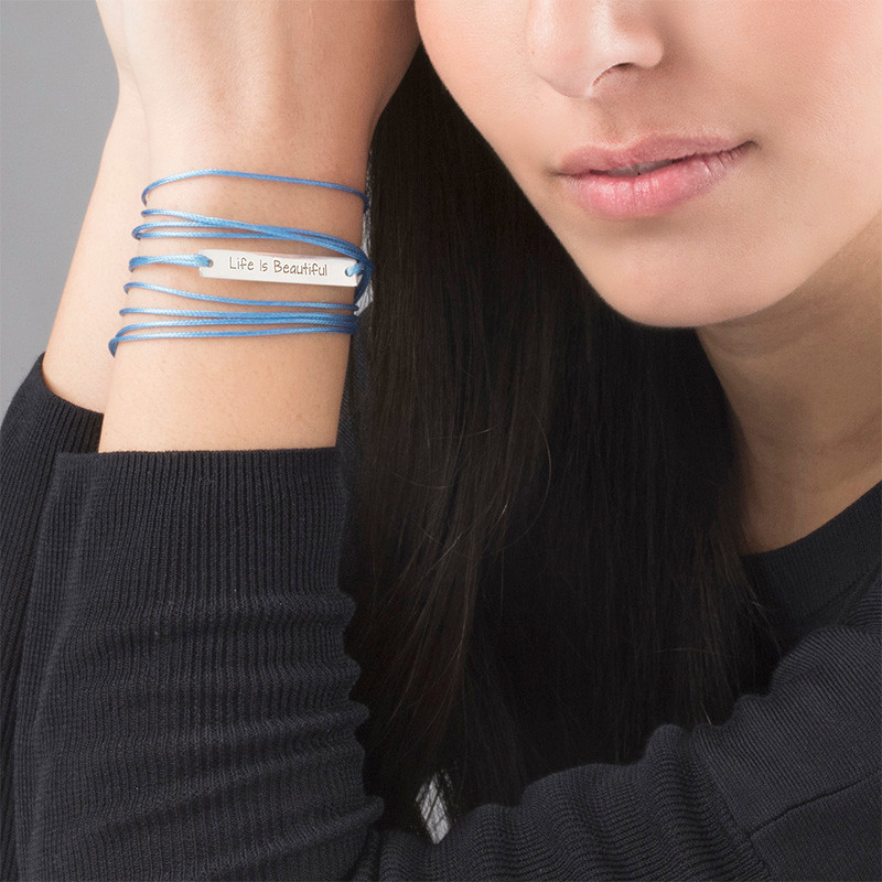 Life is Beautiful Inspirational Bracelet - 2