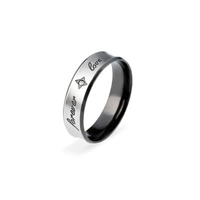 Men's ring - FOREVER LOVE