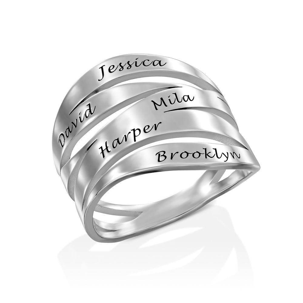 Margeaux Custom Ring in Sterling Silver